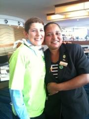 Staff members Letisha Diedericks and Christma van Zyl